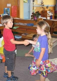Montessori Ground Rules You Can Use at Home    I like the idea of teaching specific phrases for situations.