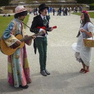 Music - Alnwick Gardens, Northumberland UK