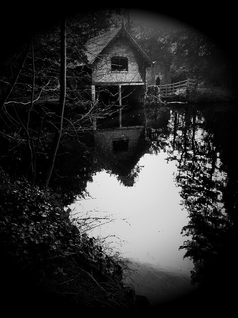 The Boathouse, Elvaston Castle, Derby. UK   IDK WHY BUT I LOVE THIS