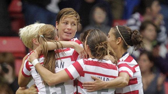This is my favorite Olympic photo so far of the women's soccer team.  #PMDParty @PMD Personal Microderm