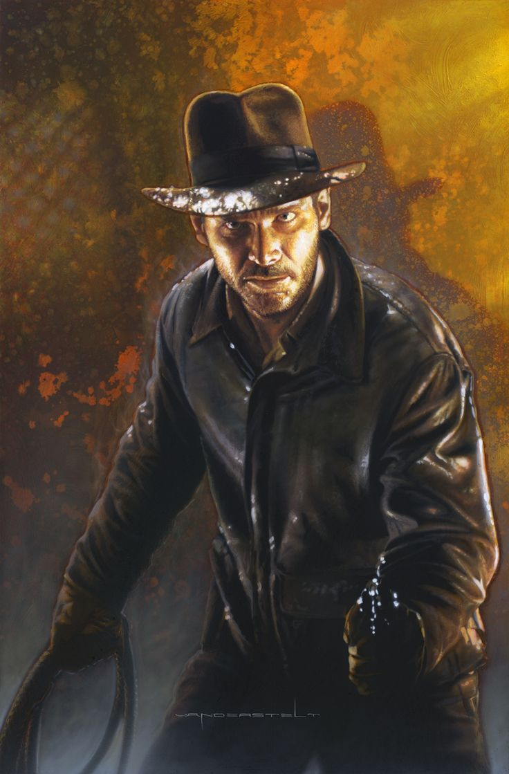 Raiders of the Lost Ark: Indiana Jones by Jerry Vanderstelt