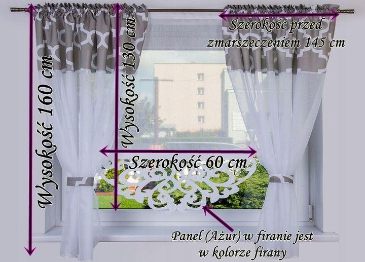 Komplet Firana Tajlandia 250x160 Panel Zaslony 7558349888 Oficjalne Archiwum Allegro Curtains Decor Home Decor
