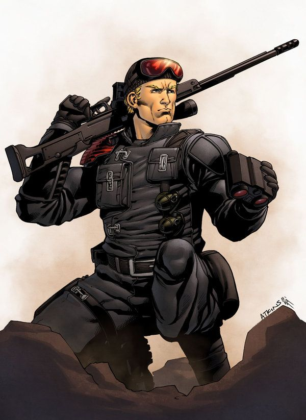 Lowlight, G.I Joe. Drawn by Robert Atkins, colours by Simon Gough.