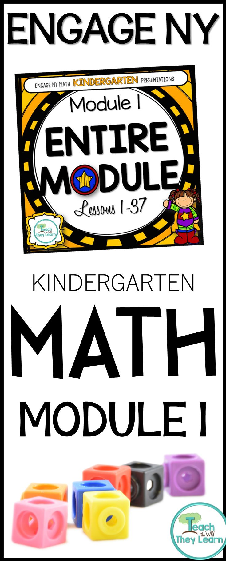 Kindergarten Engage NY presentations to teach math lessons for the entire module. Covers all lessons in the listed Engage NY math kindergarten module. Engage NY/Eureka math are Common Core Aligned and awesome math curriculum, but hard to teach from a manual. Put down your lesson plans and use these Engage New York presentations to keep students engaged. PDF format allows slides to work in classrooms that use interactive whiteboards or anywhere you would show a Power Point presentation.