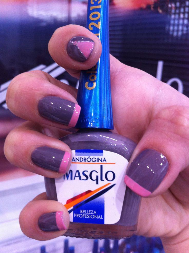 Andrógina de Masglo. Colección Noche en la ciudad. Masglo Nails