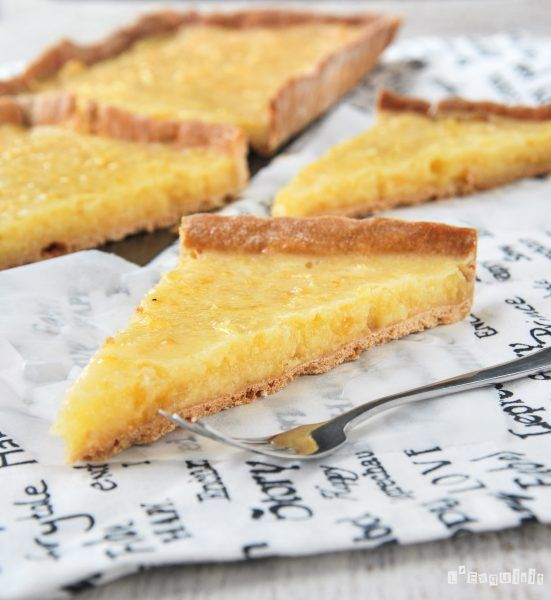 Tarta de limón (Liverpool tart) - L´Exquisit