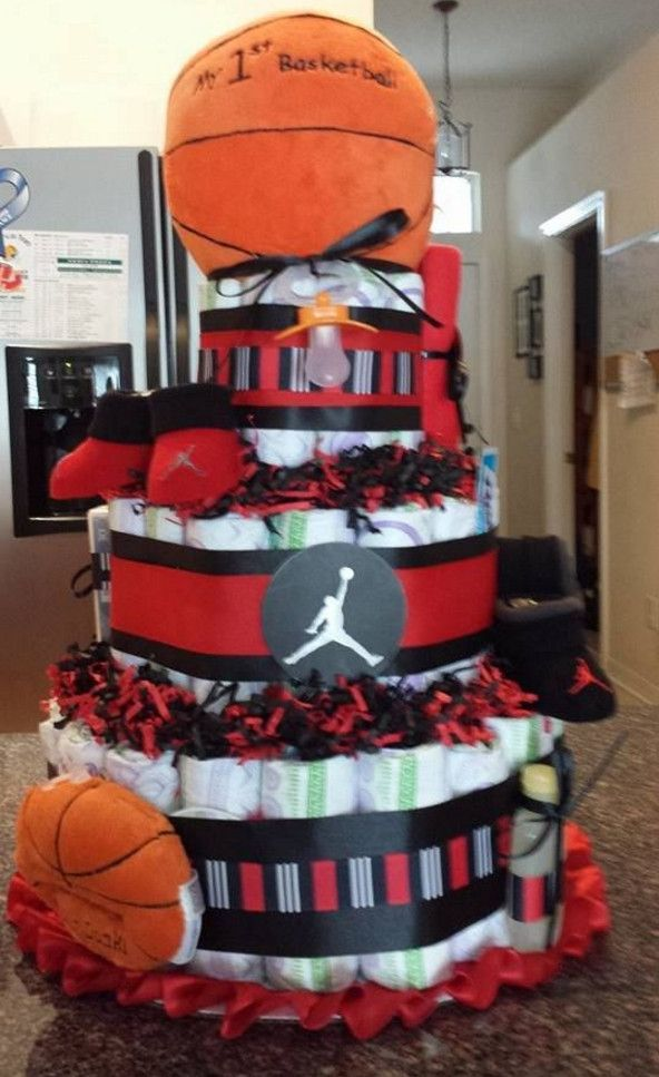 basketball baby shower gifts