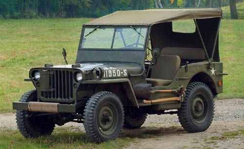 Willys (WWII era) Gahhh!!!!  I would LOVE to have one of these!!!