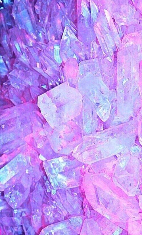 Картинки через We Heart It https://weheartit.com/entry/167679047/via/32964160 #lavender #pink #purple #rock #wallpaper #geo #crytals
