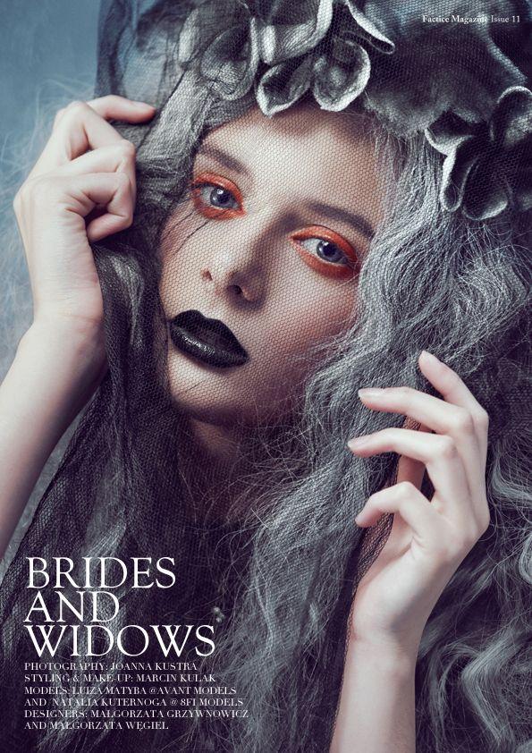 Brides & Widows by Joanna Kustra, via Behance