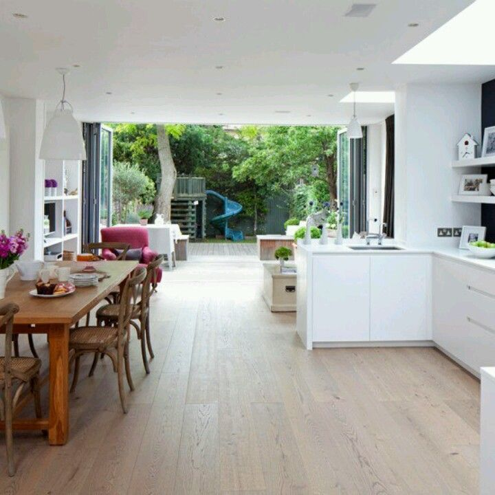 Like the layout (ours would be the mirror of this) and floor same level as outside decking
