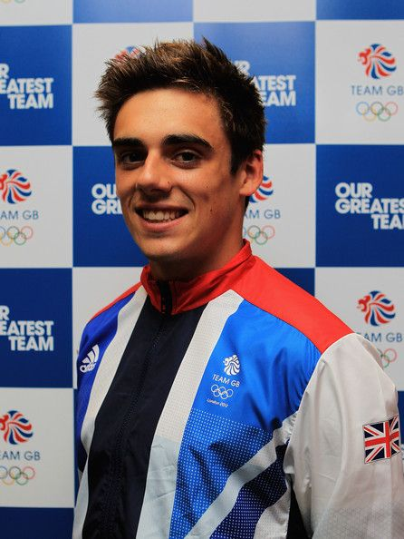 Dear everybody: Tom Daley isn't Great Britain's only diver. This is Chris Mears, and he's competing in the London Olympics too.