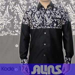 Baju Batik Kombinasi Lengan Panjang Kode 176 ini merupakan batik cap yang terbuat dari bahan katun. Dibuat dengan jahitan yang rapih dan nyaman saat dipakai.