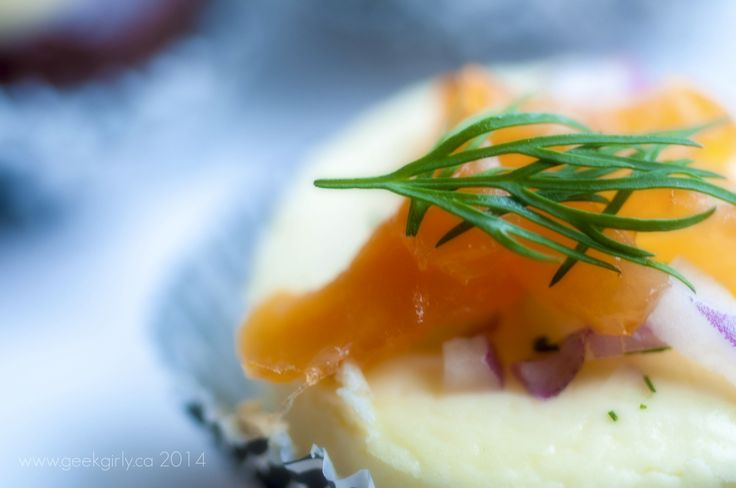 Smoked Salmon with Spanish Onion and Dill Appetizer Cheesecake