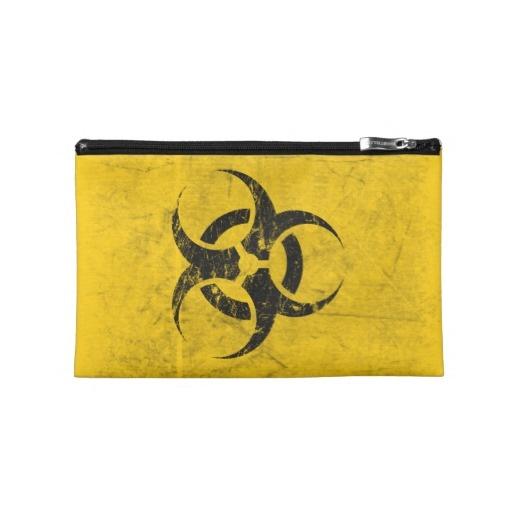 Biohazard Customizable Travel Accessory Bags
