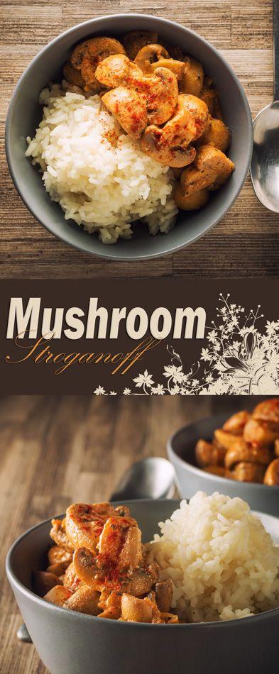 Mushroom Stroganoff, In a Hurry!: