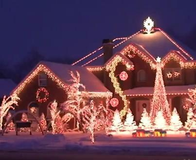 Christmas-light display | Holiday-Christmas | Pinterest ...