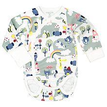 Buy Polarn O. Pyret Baby Fairy Bodysuit, Cream Online at johnlewis.com