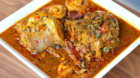 Aback Atama Soup - http://cookbookninja.com/recipes/nigerian-abak-atama/