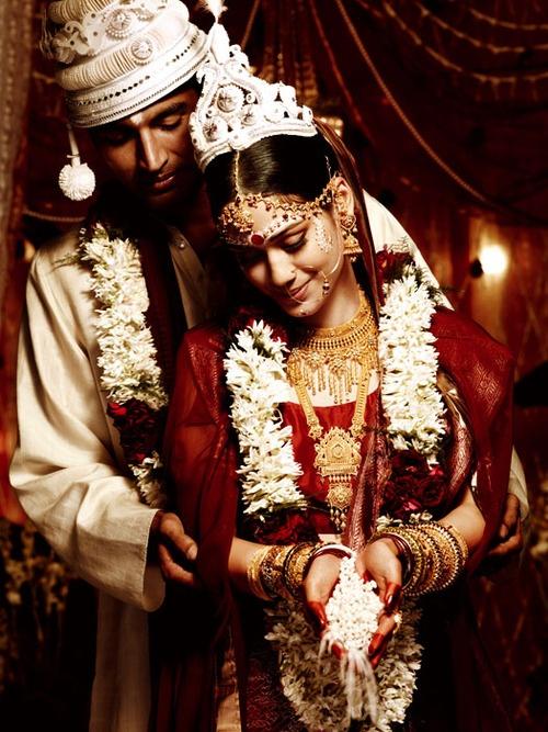 ahnishwari: Tanishq Wedding Jewelry Photographer: Suresh Natarajan Gorgeous Bengali Bride! :)