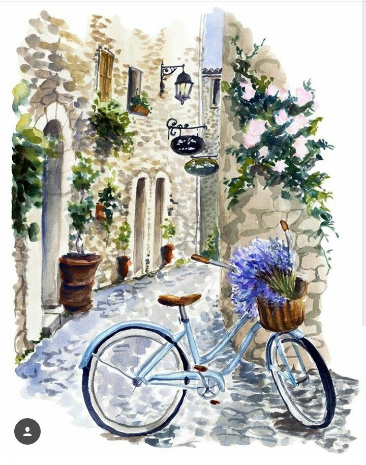 Bicycle on the street