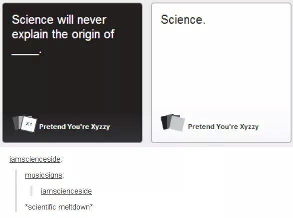 But can you explain scientific meltdown