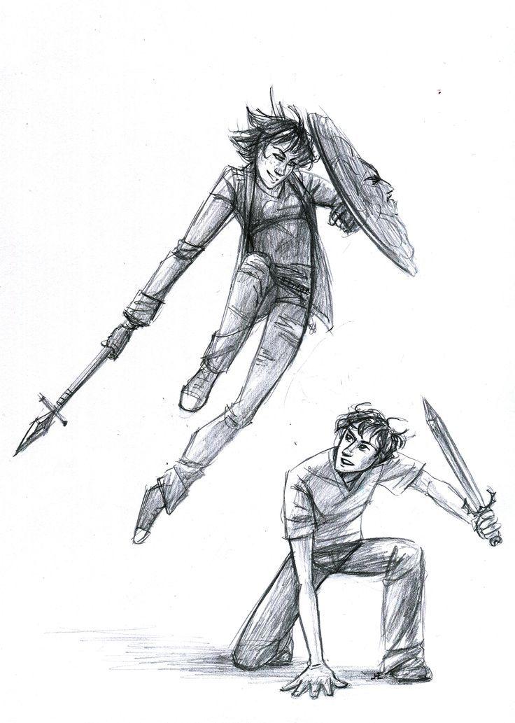 Thalia Grace and Percy Jackson