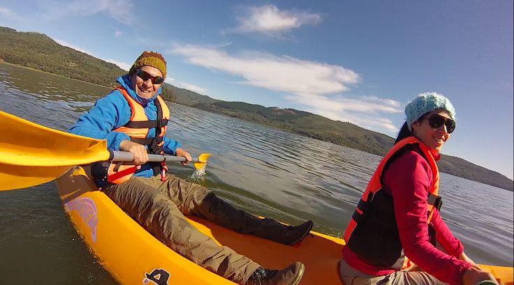 Kayak en Lago Lanalhue
