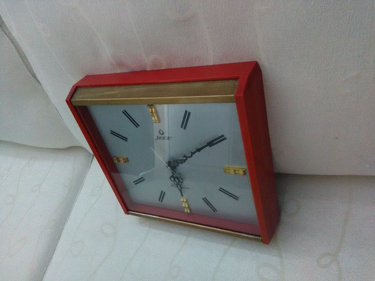 Vintage Jeco Clock 1960'S Very Rare Wall Clock Japan Korea 1 Jewel Sleek Design | eBay