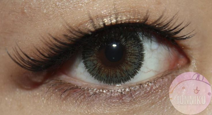 Beautiful NEO Cosmo Glamour circle colored contact with a