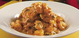 This is crawfish ravioli from Copeland's Cheesecake Bistro.