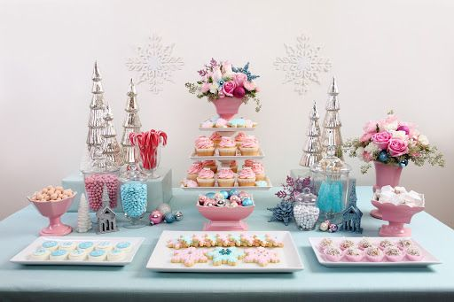 #table #vintage #pastel #party #candy #cupcakes #ideas #setup #cute