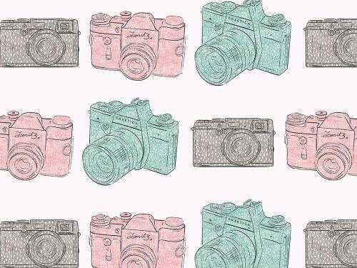 """grafika z katalogu """"Przedmioty i postacie""""  - Aparaty w kropki  http://cottonbee.pl/tkaniny/przedmioty-i-postacie/6285-aparaty-w-kropki.html"""