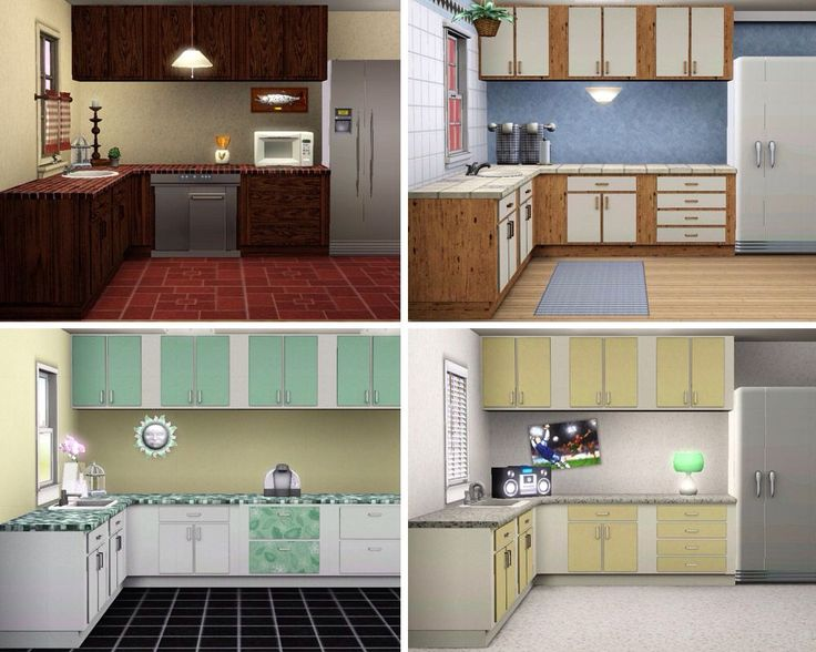 18 best images about everything sims 3 on pinterest for Sims 3 kitchen designs