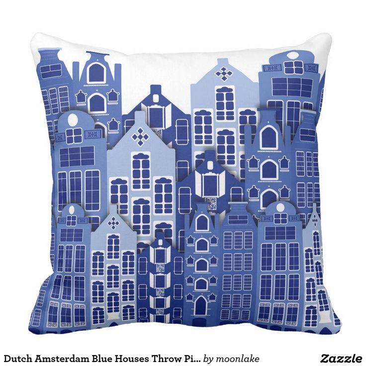 De Nederlandse Blauwe Huizen van Amsterdam werpen