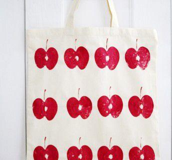 Borsa personalizzata con le mele Val Venosta