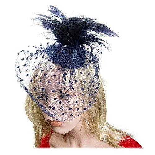 NYfashion101(TM) Cocktail Fashion Sinamay Fascinator Hat