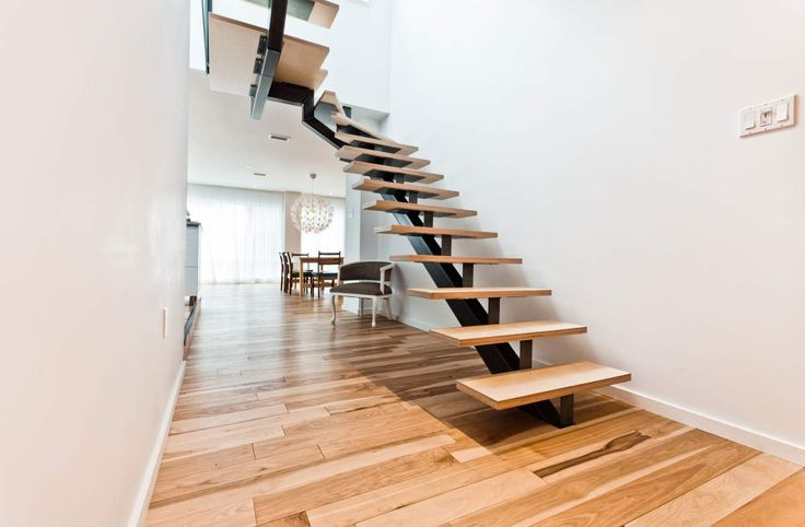 12 best images about escalier moderne on pinterest - Escalier helicoidal bois metal ...