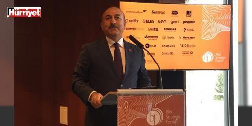 Çavuşoğlu: Darbeciler denizaltıyla bizi izledi: Slovenya'daki bir foruma katılan Dışişleri Bakanı Mevlüt Çavuşoğlu 15 temmuz darbe girişimi ve Türkiye-AB ilişkilerine dair çarpıcı açıklamalarda bulundu.