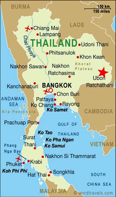 Reino de Tailandia Capital Bangkok 65.493.298 habitantes Idioma Tailandés Moneda Baht tailandés (THB)