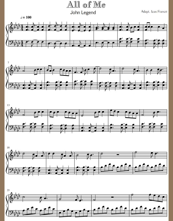 All Music Chords all of me sheet music : Mejores 8 imágenes de Music Ideas:PARTITURAS Y CANCIONES en ...