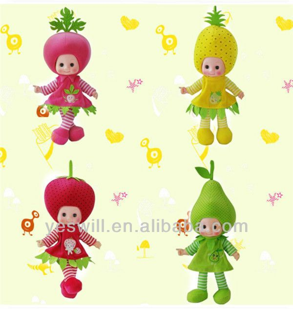 Q-kids 18 Inches Baby Doll,Fruit Dll - Buy Baby Doll,Cheap Baby Dolls,Small Baby Dolls Product on Alibaba.com