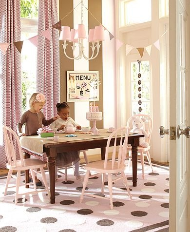 What a heavenly playroom for little girls!Dining Room, Beautiful Playrooms