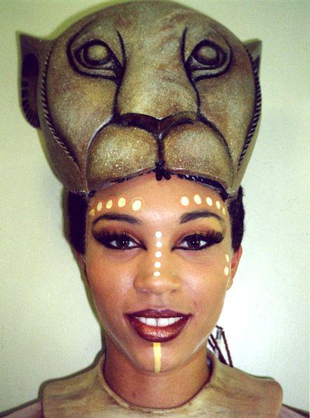 rafiki lion king makeup - Google Search
