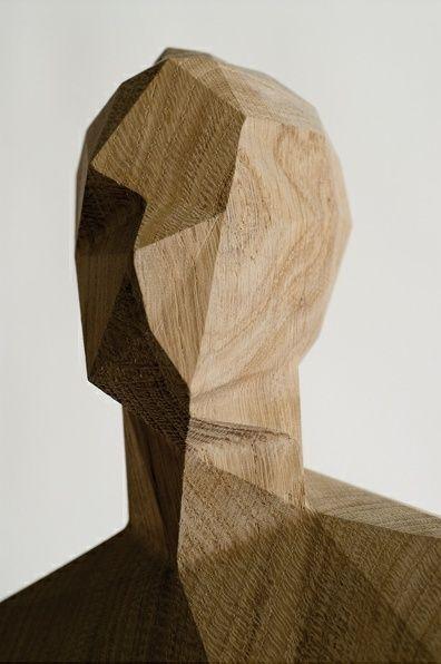 Wooden Sculpture by Xavier Veilhan