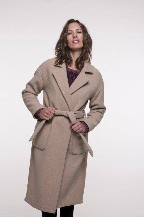 bcf6cefee5d60 Ciotat en 2019 | clothes /women | Manteau camel, Manteau camel laine ...
