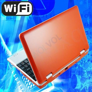wolvol NEW (Android 4.0 - 1GB RAM) orange 10inch Laptop Notebook Netbook PC, WiFi and Camera with Google Play (Includes Mini PC Mouse)    Short Description: * Slim and light weight WHITE mini laptop Android 4.0, with build-in 1.3 MP CAMERA, 4GB storage, WiFi...  $229.99 | $179.94