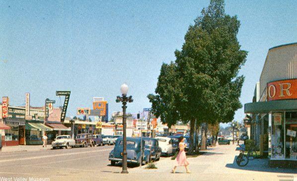 Vintage San Fernando Valley - Canoga Park, California, circa 1949