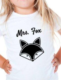 "Plottermotiv mit Spruch ""Mrs. Fox"" - Plotterdatei via Makerist.de"