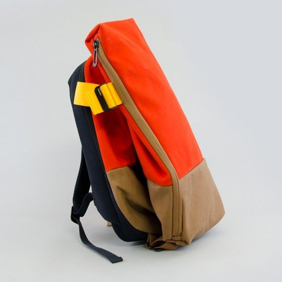 Isar Backpack Twin Touch Orange